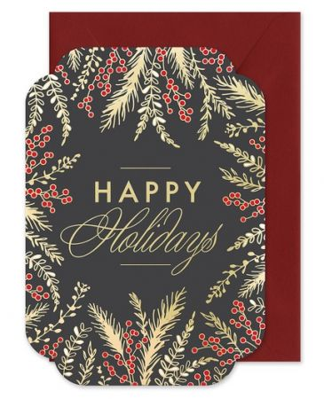 Holiday Berry Greeting Card