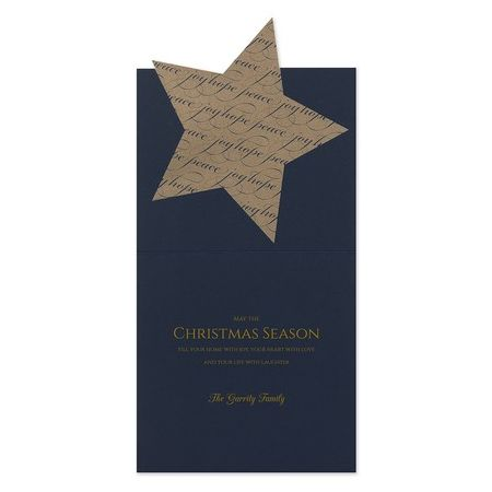 Joy Star Greeting Card