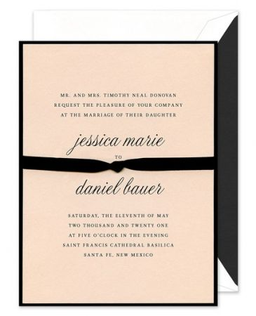 Entwined Layered Invitation