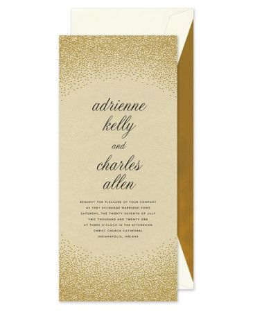 Glimmer Invitation