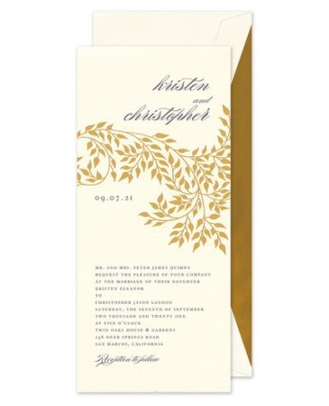 Willow Invitation
