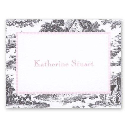 Black & Pink Calling Card