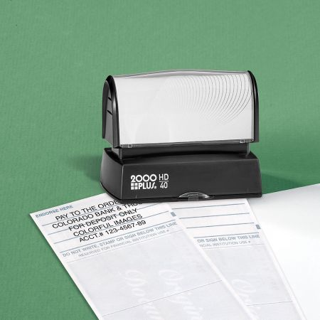Deposit Custom Address Stamp