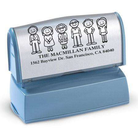 Our Family Custom Address Stamp