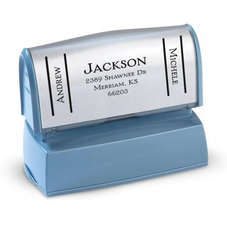 Side Show-Large Custom Address Stamp