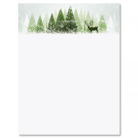 Winter Wonderland Letter Papers