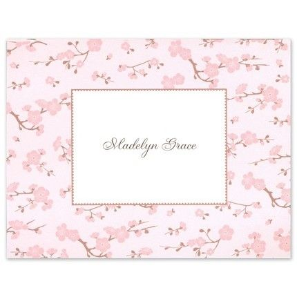 Baby Blossom Note Card