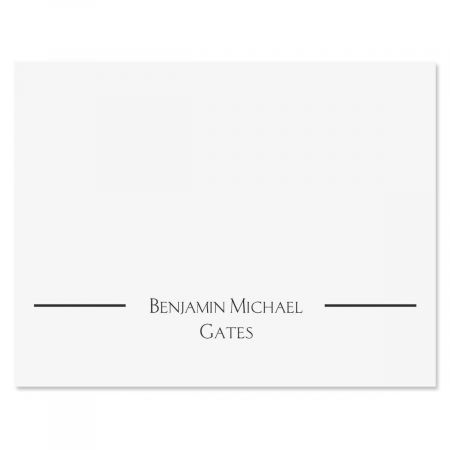 Elegant Note Cards & Envelopes