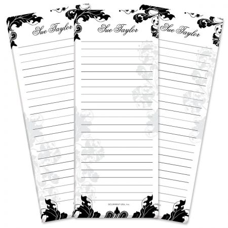 Rococo Lined List Pad