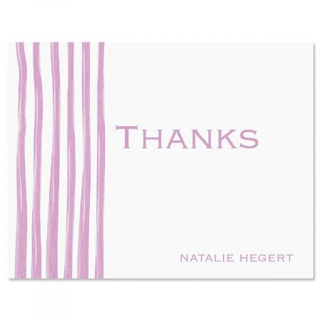 Sheer Delight Thank You Note Cards