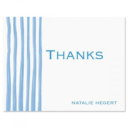 Sheer Delight Thank You Cards-Blue-609279B