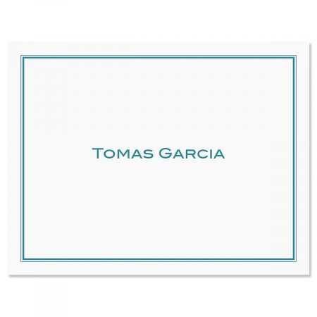 Refined Notecard-Blue-609290A