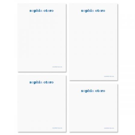 Color Wash Note Pad Set