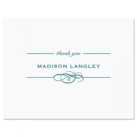 Distinction Thank You Note Cards