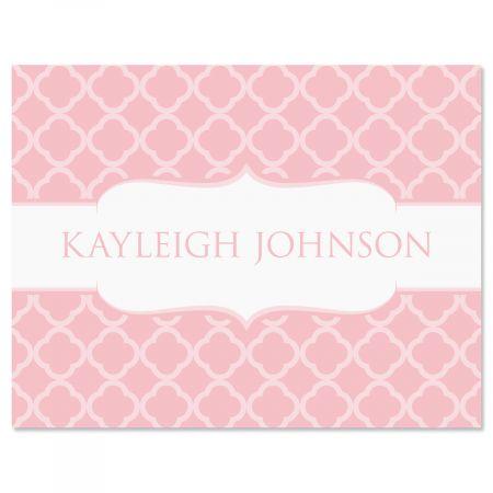 Renaissance Note Cards-Pink-611448E