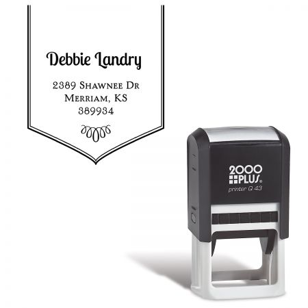 Banner Custom Address Stamp
