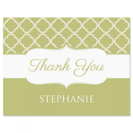Renaissance Thank You Cards-Olive-613875C