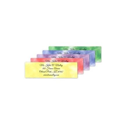 Marble Address Label