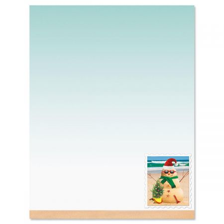 Holiday Sandman Letter Papers