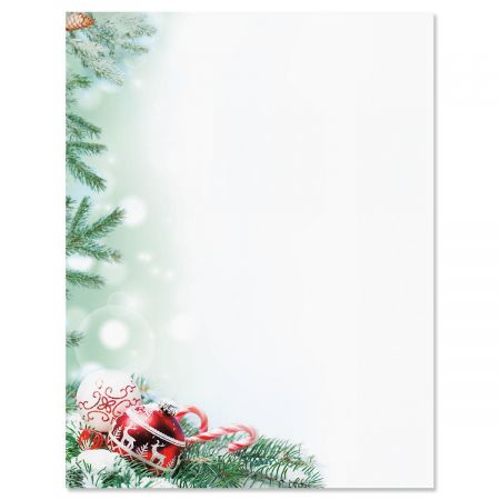 Crystal Pineboughs Letter Papers