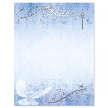 Peaceful Dove Deluxe Letter Papers