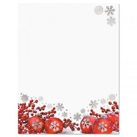 Dazzling Holiday Deluxe Letter Papers