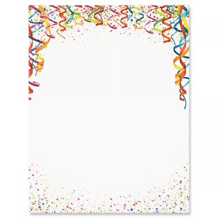 Confetti Letter Papers