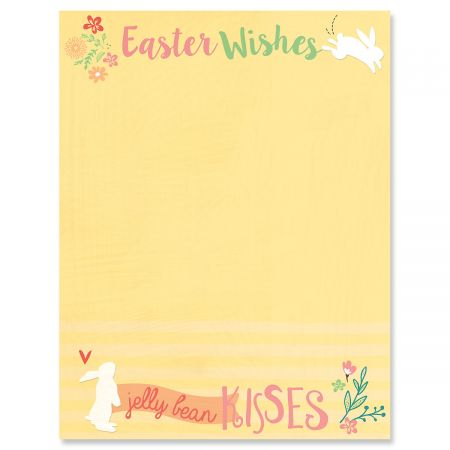 Jelly Bean Kisses Letter Papers
