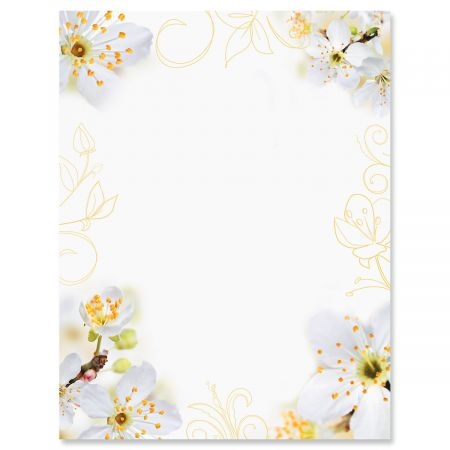 Floral Letter Papers