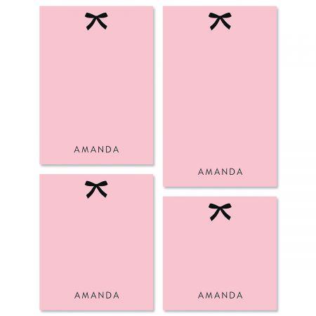 Paris Ribbon Note Pad Sets