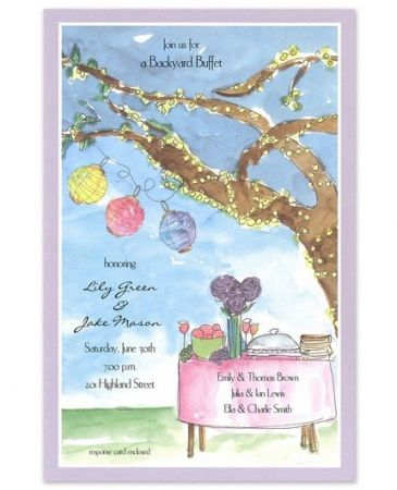 Enchanted Picnic Invitation