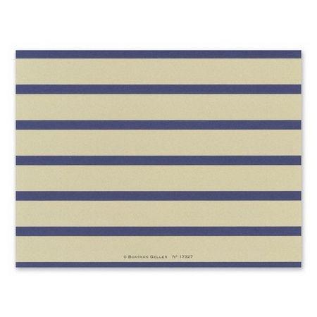 Nautical Stripe Note Card