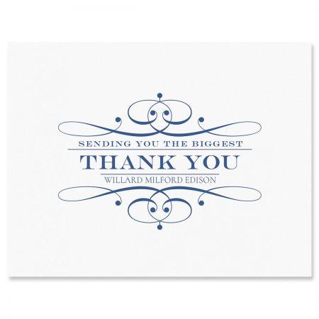 Elegant Thank You Cards