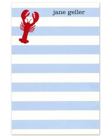 Lobster Note Pad