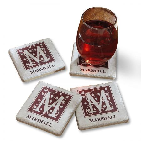 Tumbled Stone Customized Coasters