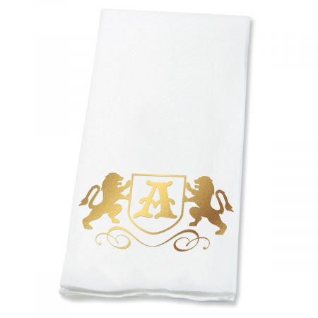 Lion Initial Disposable Hand Towels