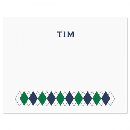 Bottom Diamond Note Cards