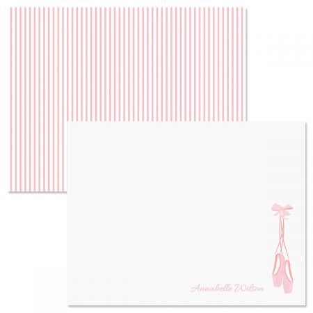 Ballet Slippers Correspondence Cards