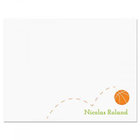 Basketball Correspondence Cards