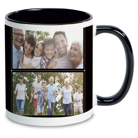Family Name Custom Ceramic Photo Mug
