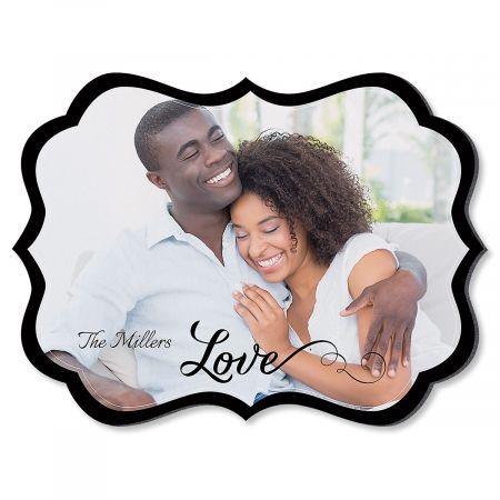 Love Family Name Benelux Photo Plaque