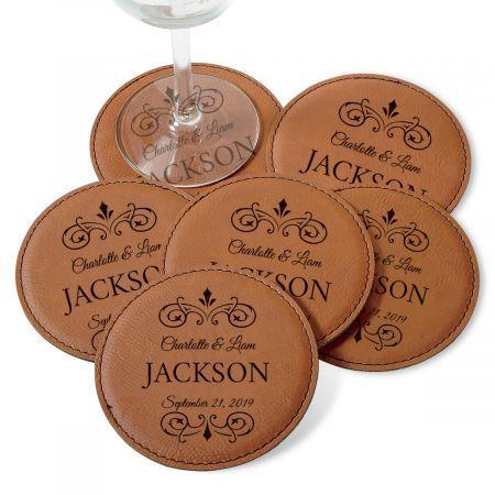 Personalized Established Coaster Set