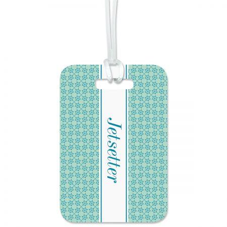 Custom Jetsetter Luggage Tag