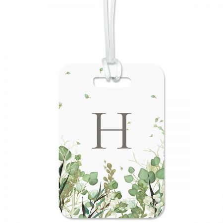 Custom Leaves Luggage Tag