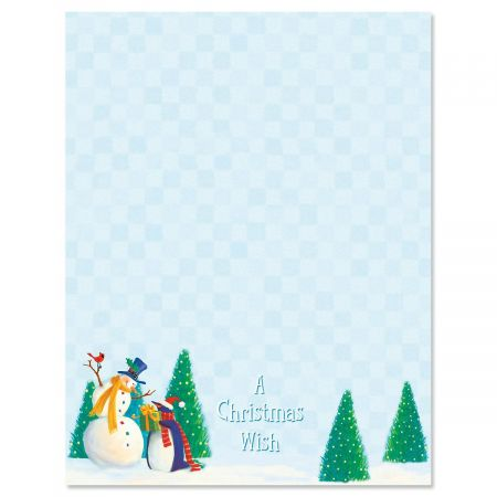 Holiday Friends Letter Papers