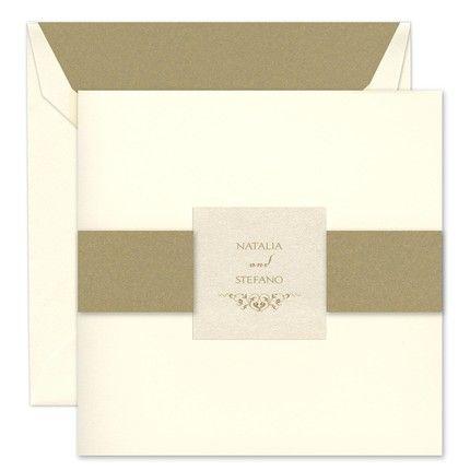 Layered Folder Invitation