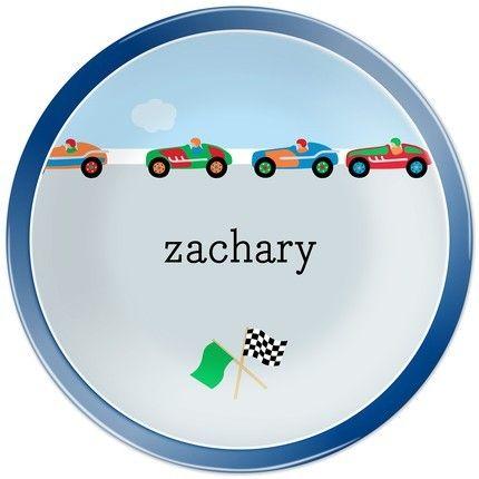 Race Cars Dinner Plate