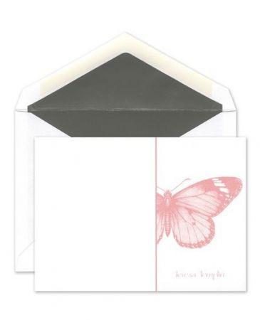 Butterfly Flat Card