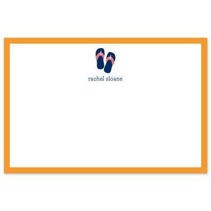 Flip Flop Flat Card