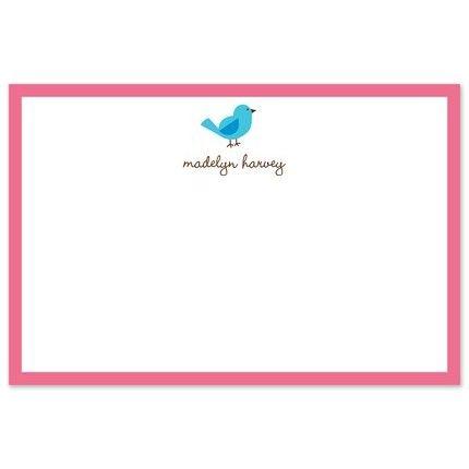 Birdie Flat Card